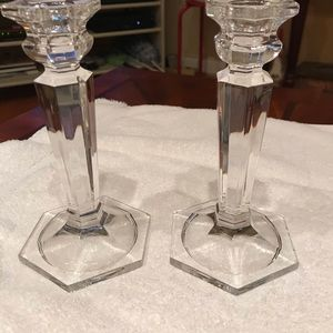 Other - Crystal Candlesticks